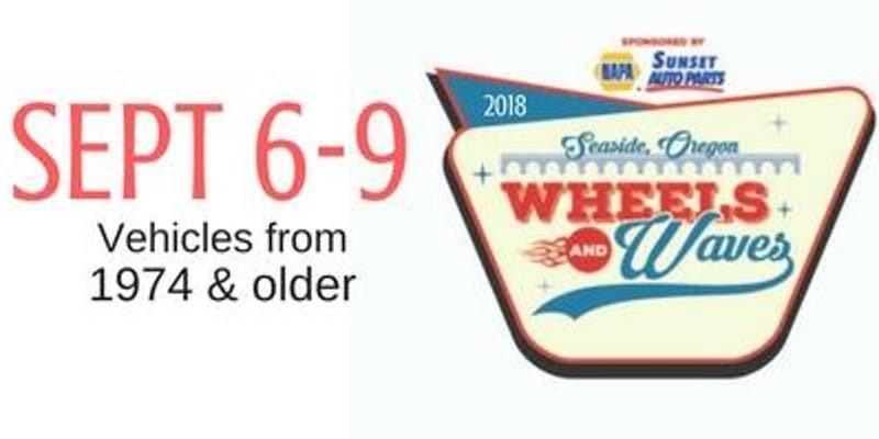 Seaside Wheels And Waves Car Show - Seaside oregon car show